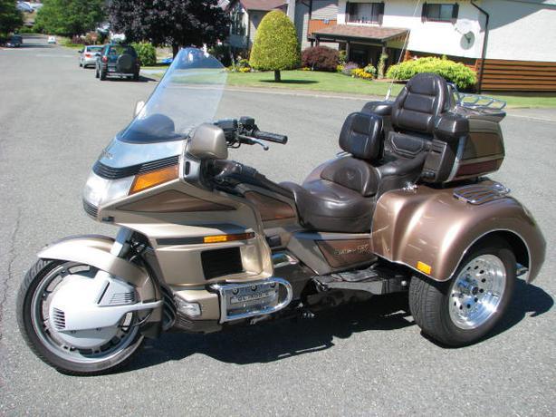 Honda Goldwing Trike Outside Nanaimo Parksville Qualicum
