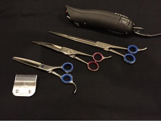 Scissor Sharpening, Clipper Blade Sharpening, Clipper Repair, and Dryer Repair