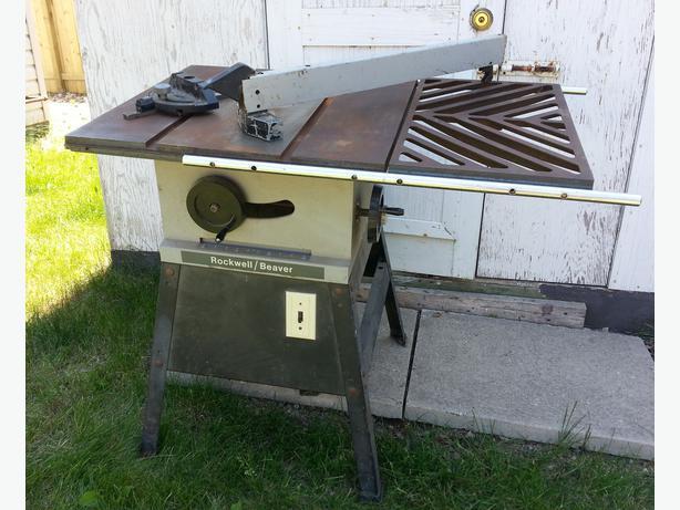 Table Saw - Rockwell Beaver - 9 inch - 1 hp motor North Regina, Regina
