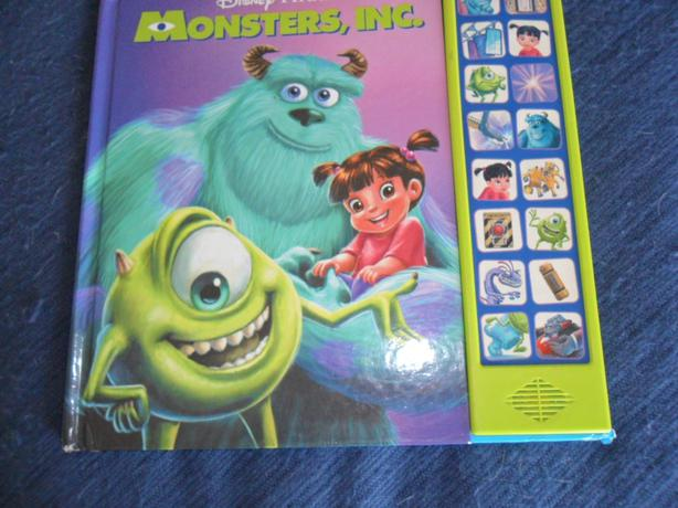 Monsters Inc Interactive Play A Sound Board Book