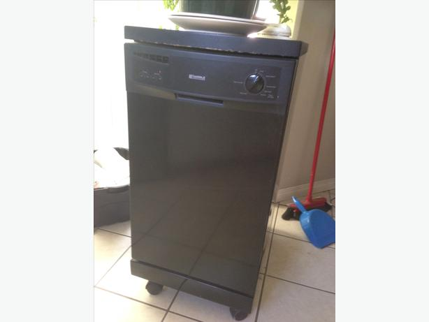 kenmore dishwasher black. kenmore®/md 18\u0027\u0027 portable dishwasher, black kenmore dishwasher
