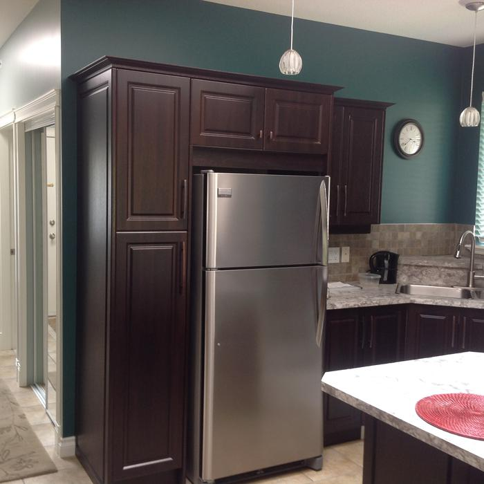 Used Kitchen Cabinets Vancouver: Kitchen Cabinet Refacing Door Replacing. Outside Comox