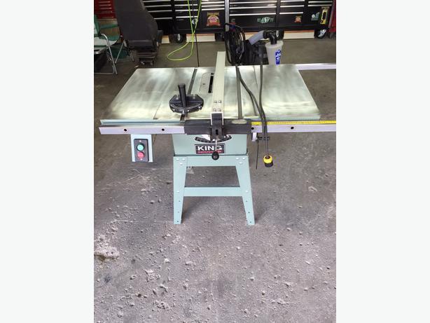 King Industrial Table Saw Kc 10gc North Regina Regina