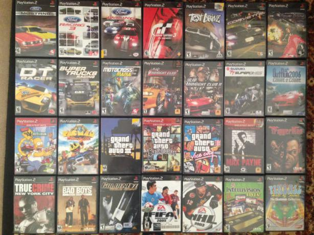 PS2 Games - Names in description - All in original cases $5 each