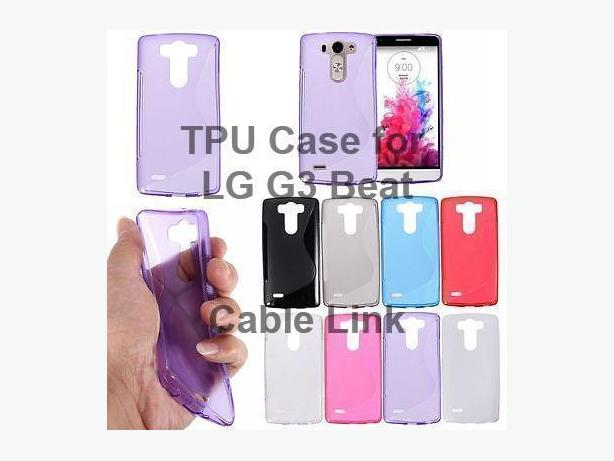 New S Line Soft TPU Gel Silicone Case Cover For LG G3 Beat