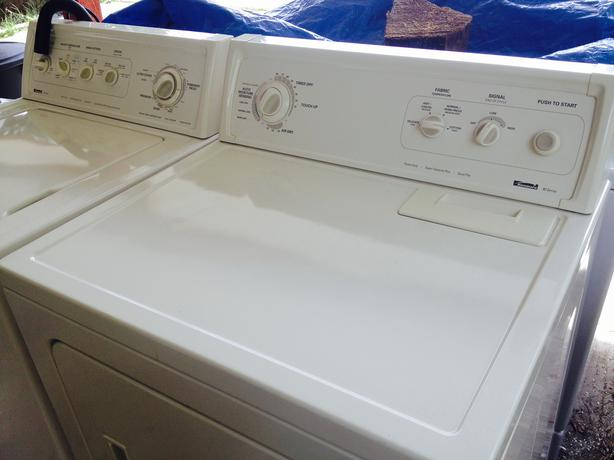 kenmore 90 series electric washer and kenmore ultra dryer