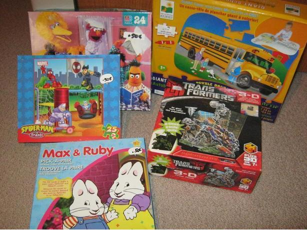 puzzles and one match game