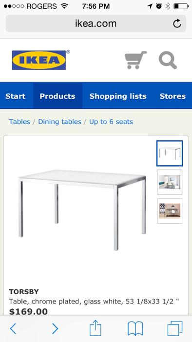 Ikea dining table Esquimalt amp View Royal Victoria : 47965674934 from www.usedvictoria.com size 394 x 700 jpeg 28kB