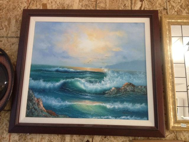 Seascape painting north saanich sidney victoria for 5334 seascape terrace nanaimo