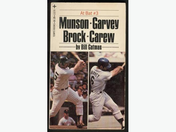 Baseball Books Magazines George Brett Thurman Munson Rod Carew