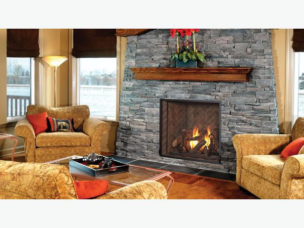 brand new kozy heat alpha 36 gas fireplace with logs oak
