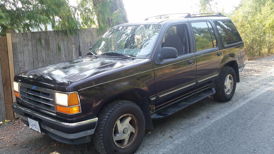 1993 Ford Explorer Xlt 4x4 Quick Sale Malahat Including