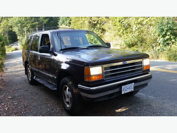 1993 Ford Explorer Xlt 4x4 Quick Sale Shawnigan Lake