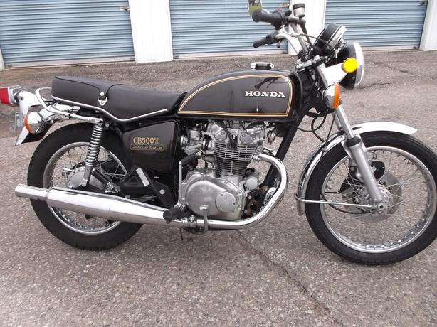 1976 honda cb500t only 7556 miles moose jaw, regina