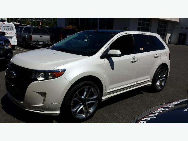 2014 used ford edge sport for sale in parksville parksville nanaimo. Black Bedroom Furniture Sets. Home Design Ideas