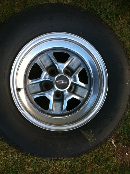 Used Tires Oshawa >> 15 inch chrome olds rally wheels PRINCE COUNTY, PEI - MOBILE