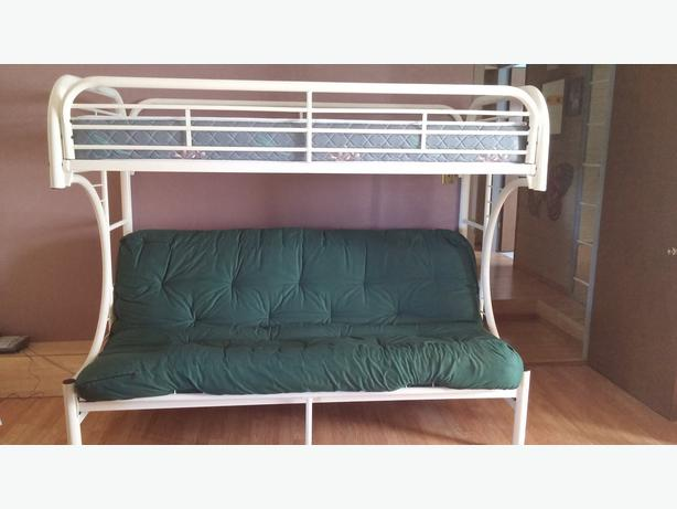 Metal Futon Bunk Bed C Shaped