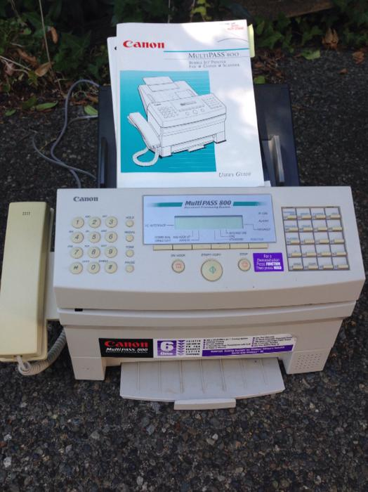 fax machine copier