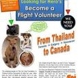 Flight Volunteers wanted to bring rescued pets from Thailand.