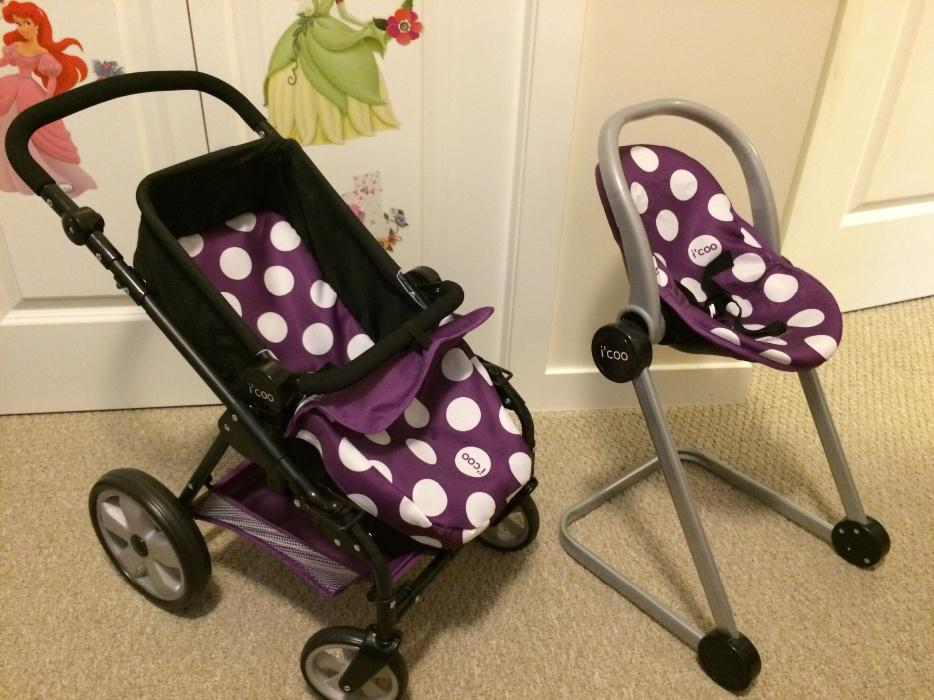 Gently Used Baby Doll Stroller And High Chair West Shore