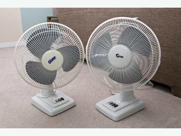 Oscillating Desk Fan : Oscillating desk fans super brand orleans ottawa mobile