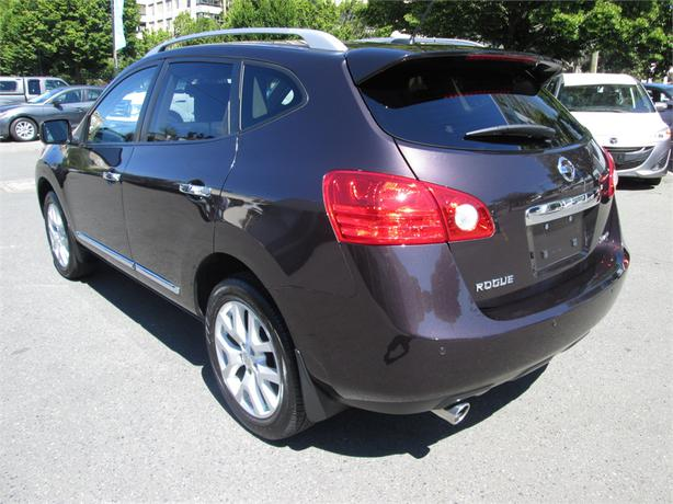 2013 nissan rogue sl outside nanaimo parksville qualicum beach mobile. Black Bedroom Furniture Sets. Home Design Ideas