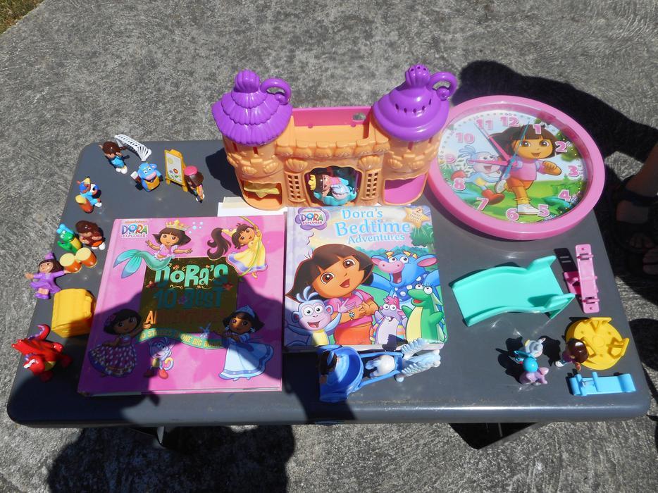 All Dora Toys : Lots of dora the explorer toys and books oak bay victoria