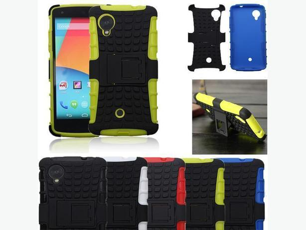 Heavy duty armor hybrid stand case for Google Nexus 5