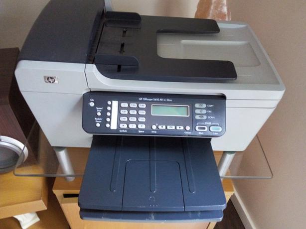 hp 5600 printer  copier  scanner and fax all in one HP Deskjet 5600 Printer hp 5500 printer manual