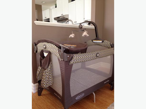 graco pack n play changing table sold separately