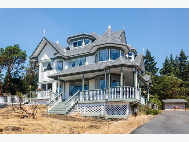 Immaculate victorian designed custom built home w for Custom built victorian homes