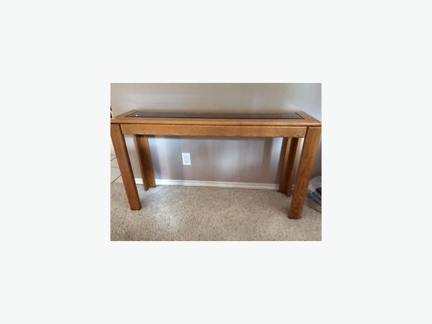 Oak Coffee Table Sofa Table And 2 End Tables West Regina Regina Mobile