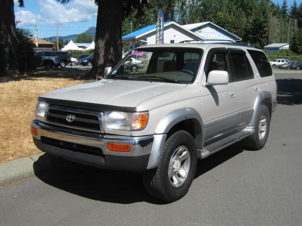 1997 toyota 4runner limited duncan cowichan. Black Bedroom Furniture Sets. Home Design Ideas