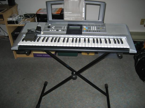 Yamaha Ypt Manual