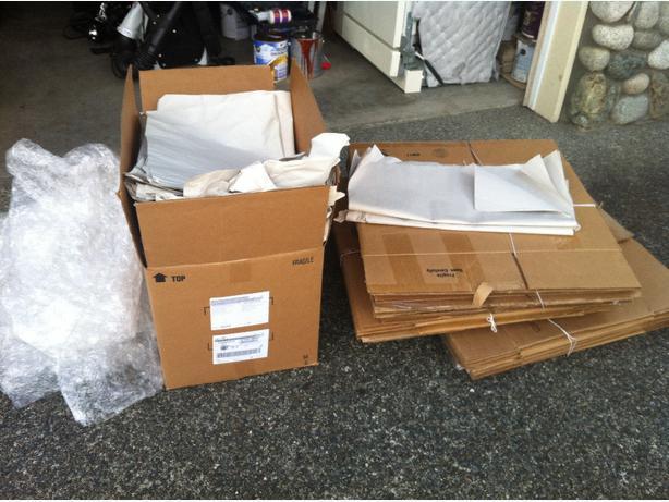 Moving Boxes Supplies Esquimalt View Royal Victoria