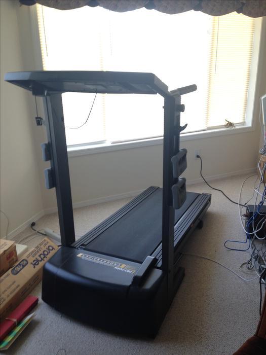 proform crosstrainer treadmill weight bench north nanaimo