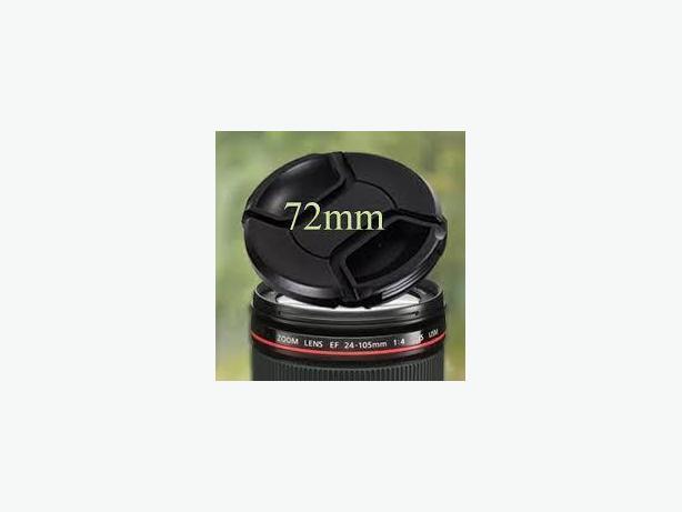 New Camera Lens Cap 72mm