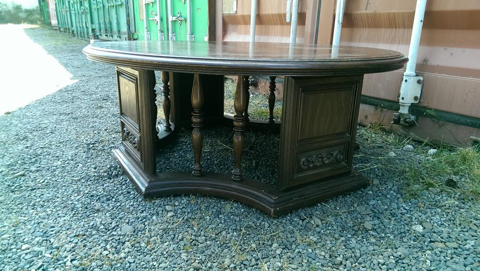 Solid wood round coffee table central nanaimo nanaimo for Coffee tables london ontario
