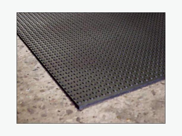 Button-Topped Rubber Mats