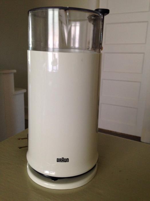 Braun Coffee Grinder ~ Braun ag blade mill coffee grinder saanich victoria mobile
