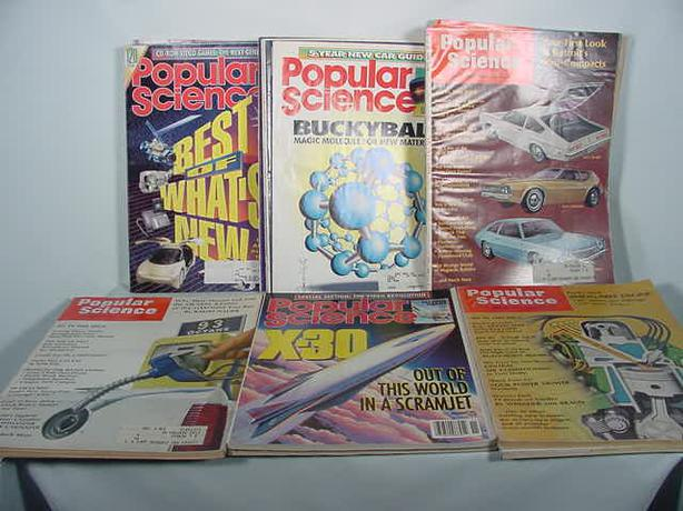 Popular Science Magazines 16 From 1970 1991 Victoria City