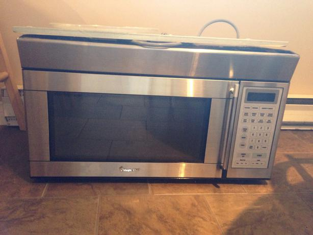 Free stainless steel over the range microwave central saanich victoria - Red over the range microwave ...
