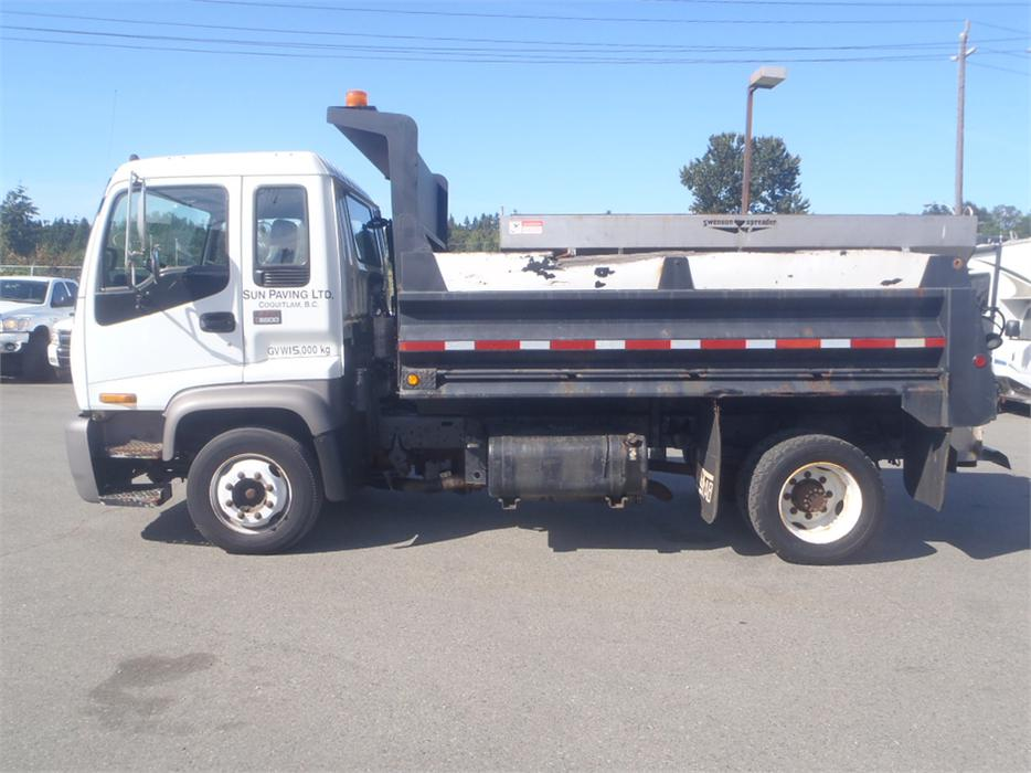 Maple Ridge Dump >> 1999 GMC T6500 Dually Dump Truck with Salt Spreader Diesel Outside Okanagan, Okanagan - MOBILE