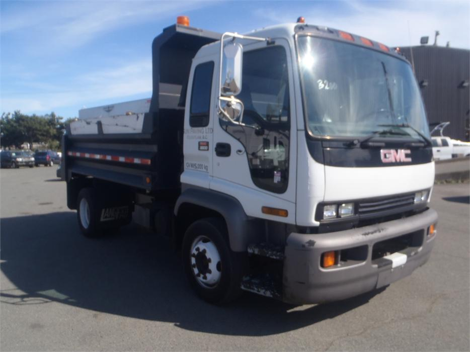 1999 GMC T6500 Dually Dump Truck With Salt Spreader Diesel 25583065