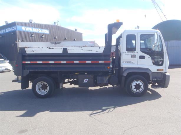 1999 GMC T6500 Dually Dump Truck With Salt Spreader Diesel 25583080