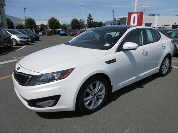 2012 kia optima ex turbo low kms leather north nanaimo. Black Bedroom Furniture Sets. Home Design Ideas