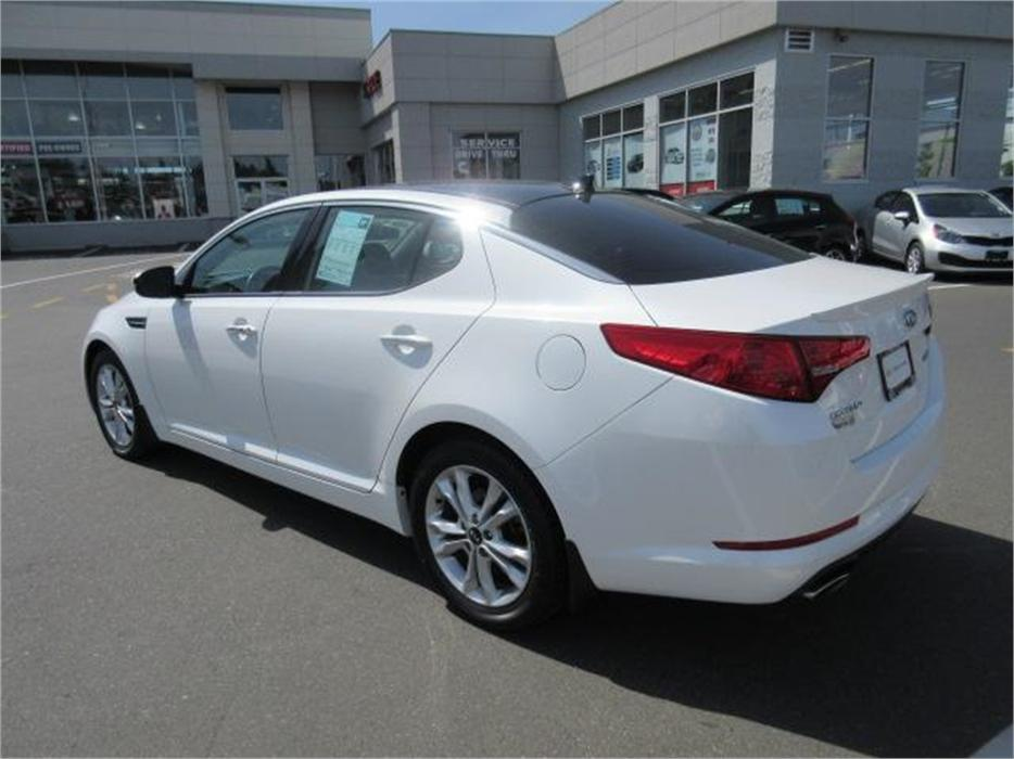 2012 Kia Optima Ex Turbo Low Kms Leather North Nanaimo