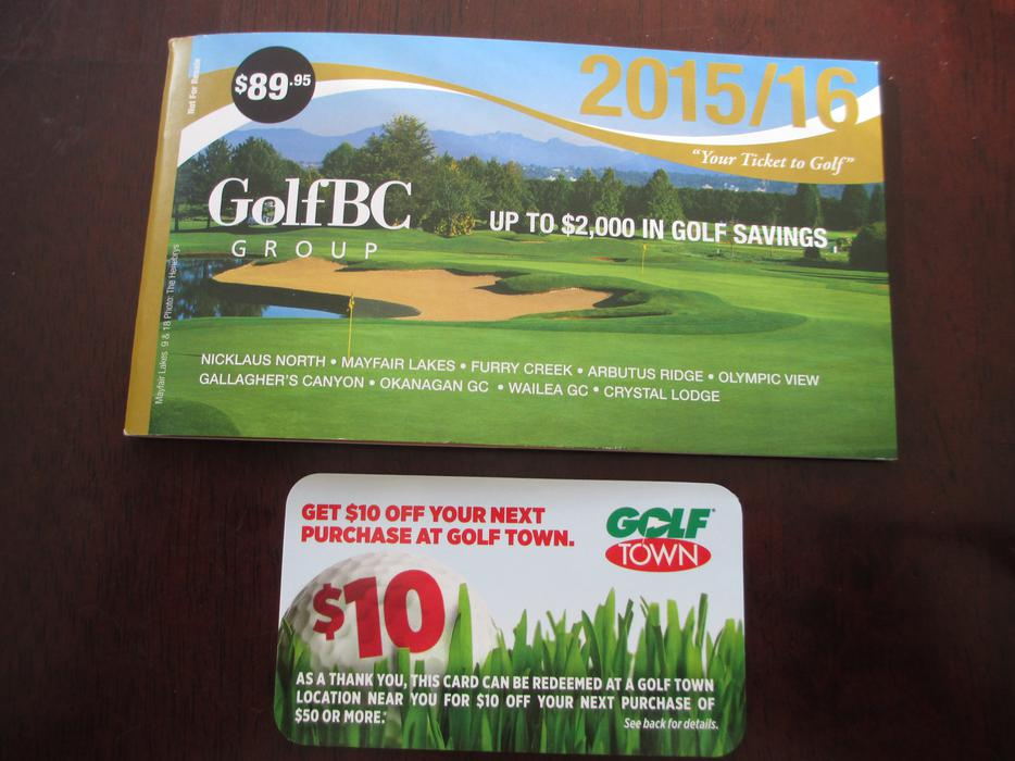 Golf town discount coupons