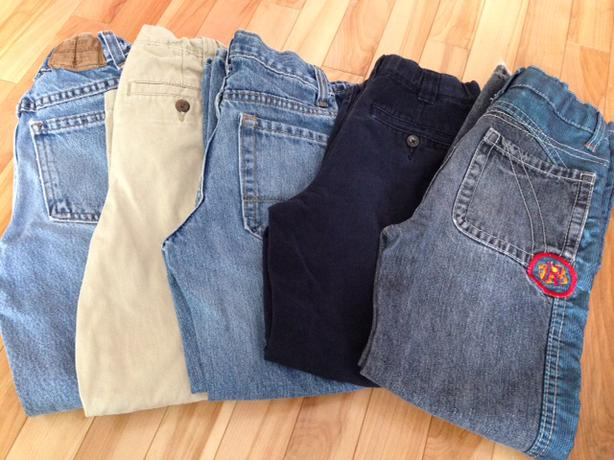 5 pairs Boys size 7 Jeans / Pants