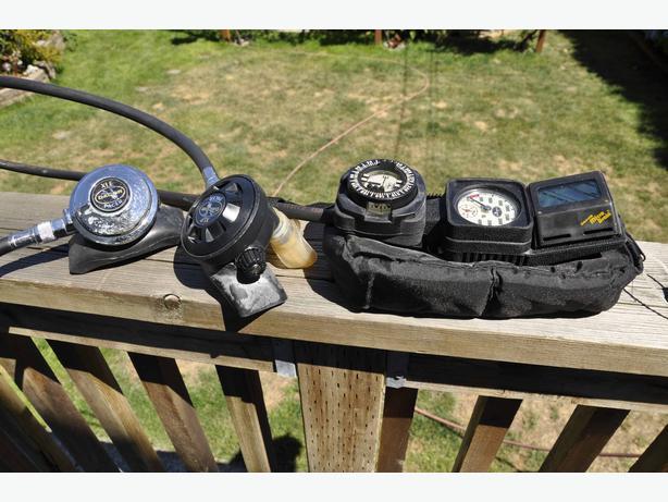 Dive gear price reduced south nanaimo nanaimo mobile - Dacor dive computer ...